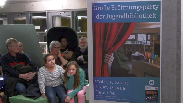 Virtual Reality-Workshop in der Stadtbibliothek Bergheim